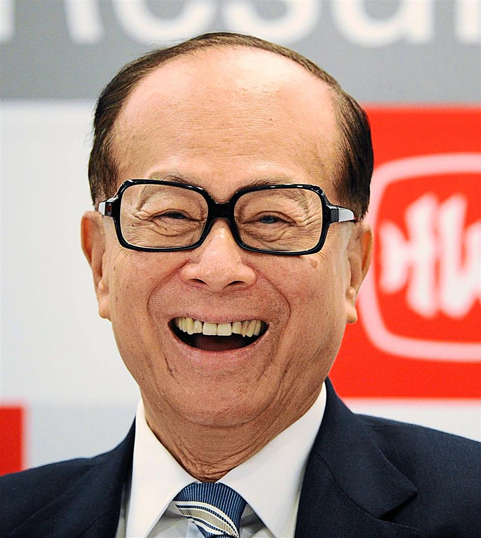Li Ka-shing - AFP