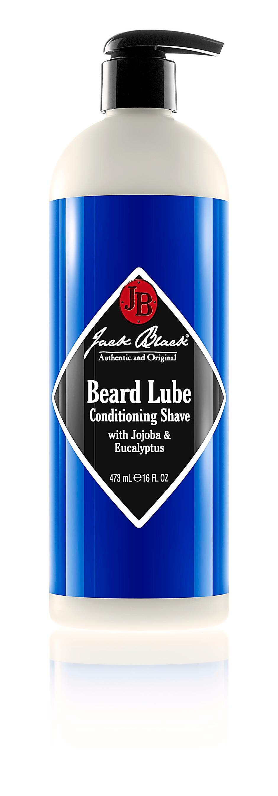From top:  Award-winning Jack Black Beard Lube Conditioning Shave; Jack Black Pure Clean Daily Facial Cleanser; Jack Black Double-duty Face Moisturiser SPF 20.