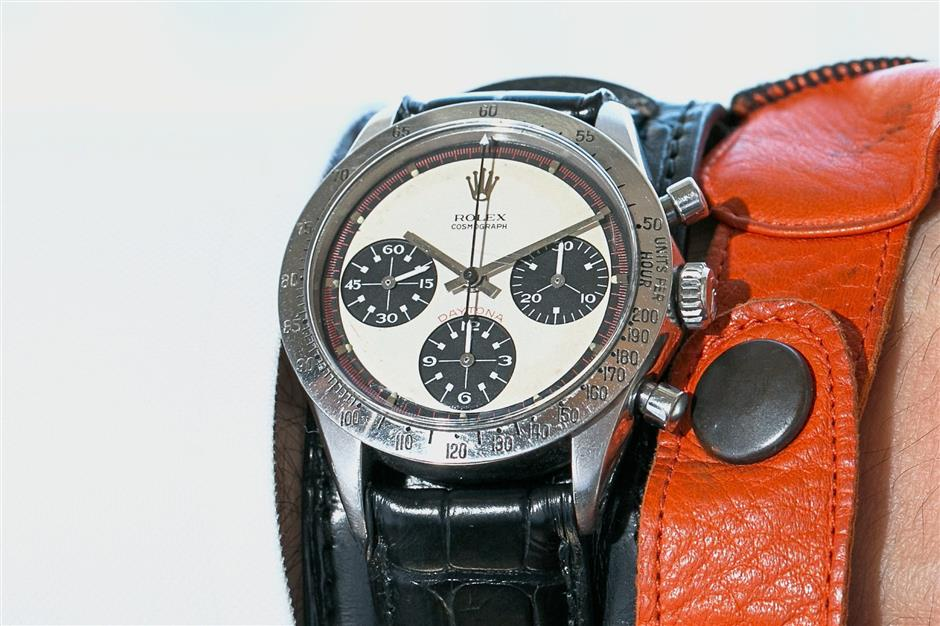 Hollywood classic: The Paul Newman Rolex Daytona. — AFP