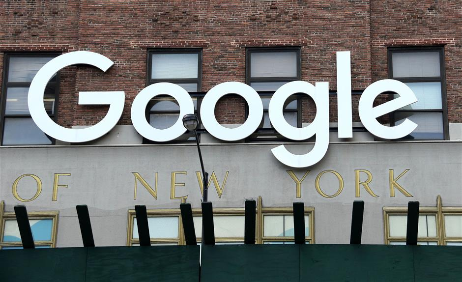 A view of Google headquarters located on 111 8th Avenuein New York, N.Y. Google recently fired James Damore for posting a 10 page anti-diversity memo. Damore has filed a lawsuit against Google. (Nancy Kaszerman/Zuma Press/TNS)