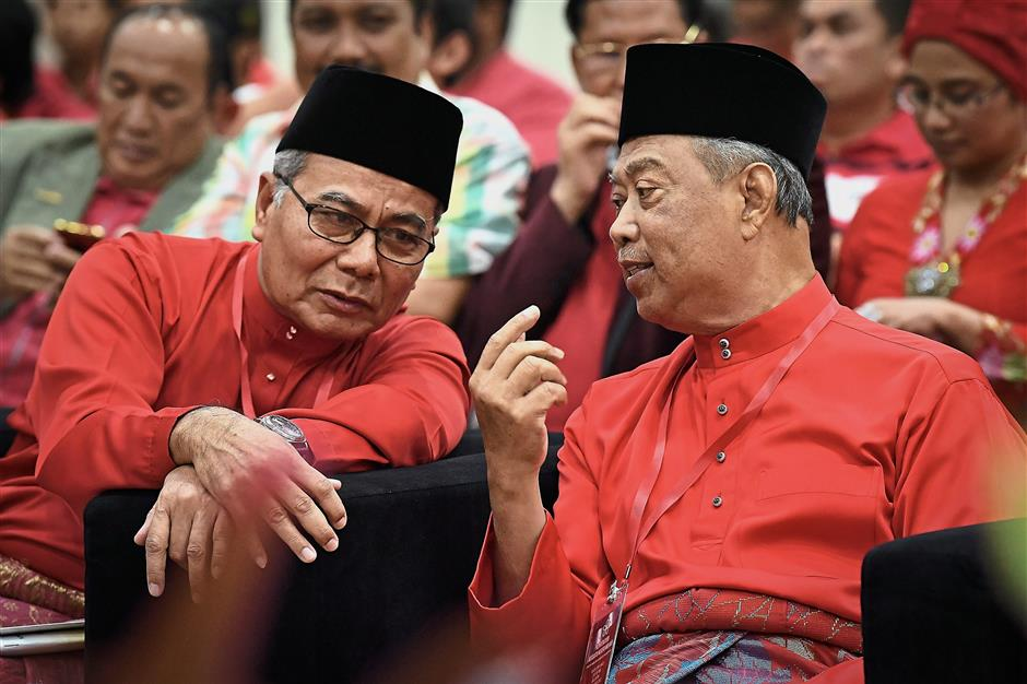 Long-time friends: Not many people realise that Mohd Redzuan helped Muhyiddin to set up Bersatu.