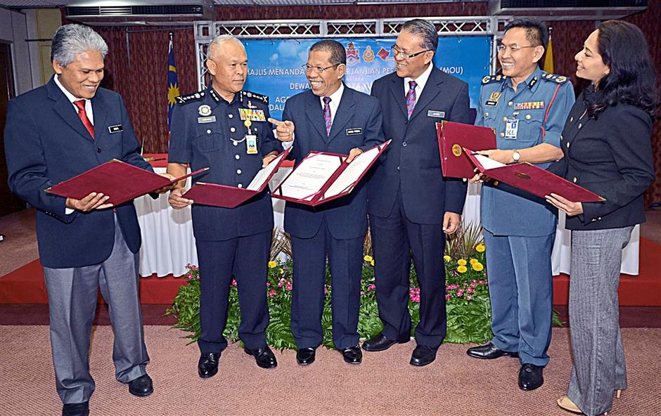 sports shoes 01bcd f413f Five parties sign MoU to work together | The Star Online