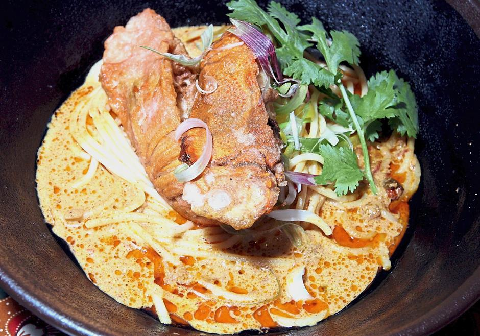 Lobster laksa is one of the specialities to look forward to at Serena Brasserie.