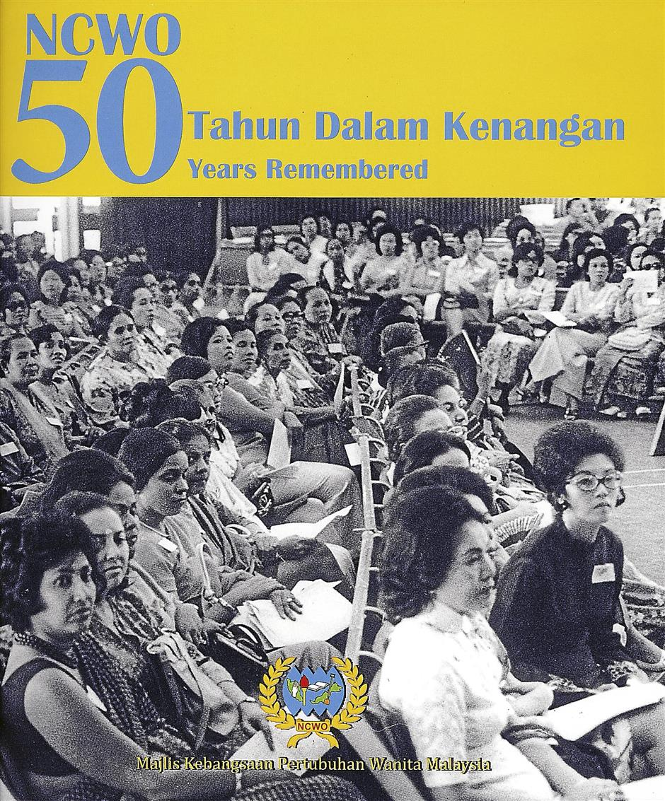 The book commemorating the women's movement in Malaysia.
