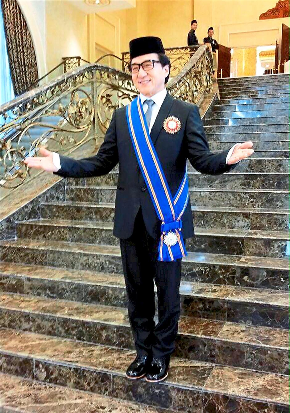 It's no stunt – HK superstar is now Datuk Jackie Chan | The