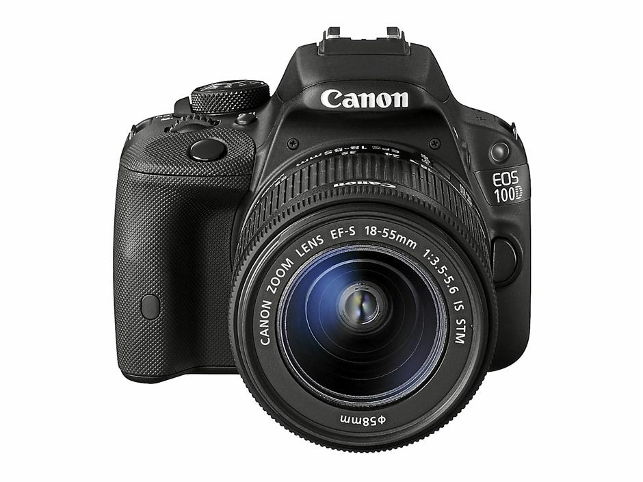 Canon EOS 100D is small and yet has a full complement of features including a touch-sensitive screen