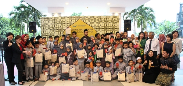 Gleneagles Kuala Lumpur treated 60 children to a shopping spree and buka puasa meal.
