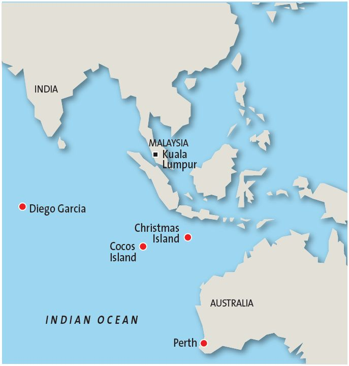 Where Is Christmas Island.Where In The World Is Diego Garcia The Star Online