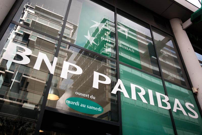 BNP Paribas has neared a deal with US prosecutors that would see the French bank pay US$8bil to US$9bil and accept other punitive measures for violating American sanctions against Iran, Sudan and Cuba between 2002 and 2009 by handling up to US$100bil\'s worth of transactions with them - AFP Photo.