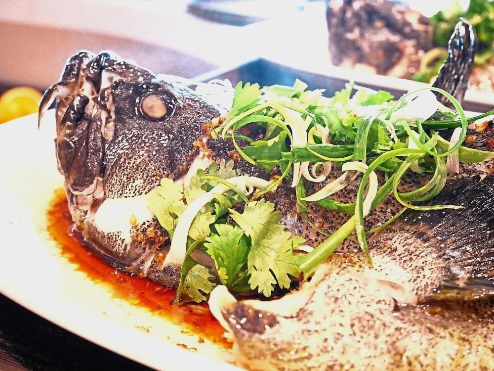 The fish dish at Trove Johor Baru.