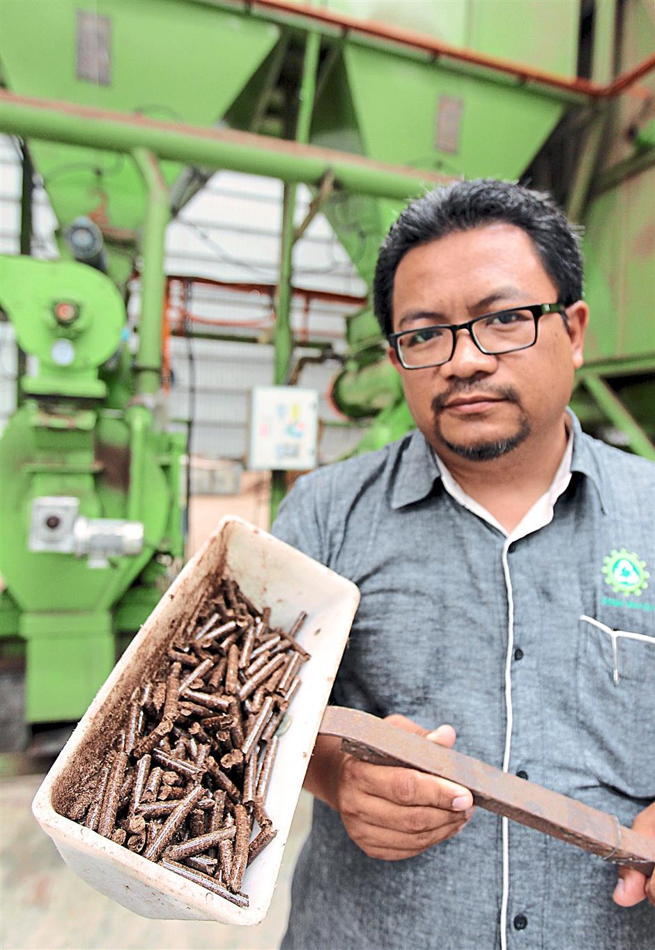 Md Arfizal said countries such as South Korea see biomass pellets as a substitute for wood pellets because of the latter's rising price.