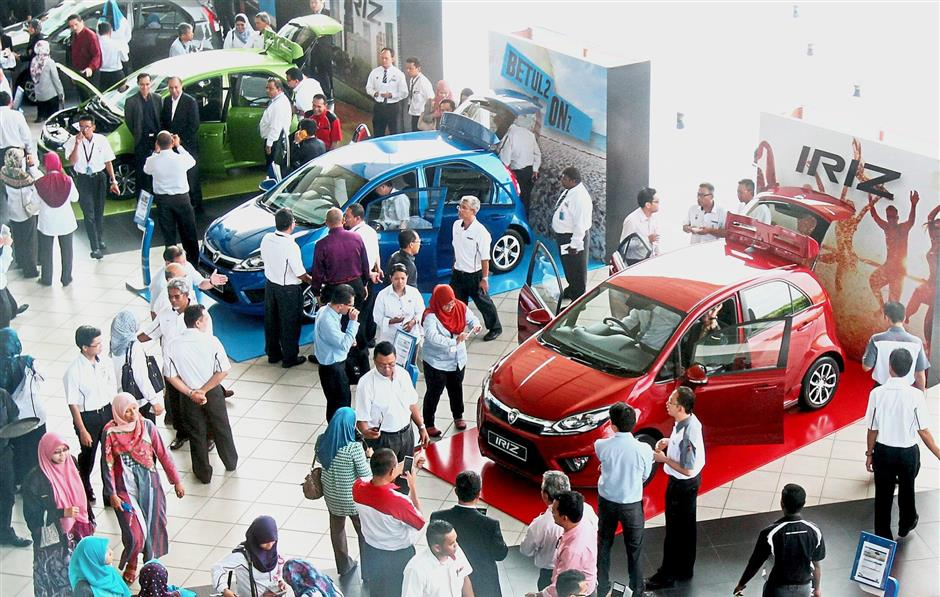 New hope: The partnership of Proton with Geely has brought a lot of buzz to Tanjung Malim as Proton's plant will be expanded to boost production there.