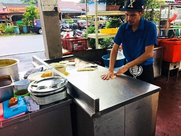 Roti canai is another option to have if one does not feel like eating nasi lemak.