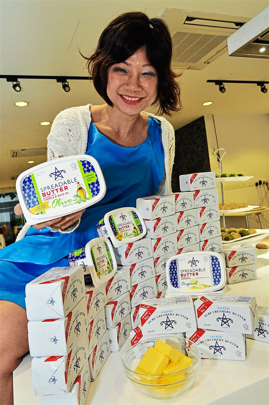 Big demand: Lim estimates Malaysians buy up to 1,500 tonnes of butter a year.