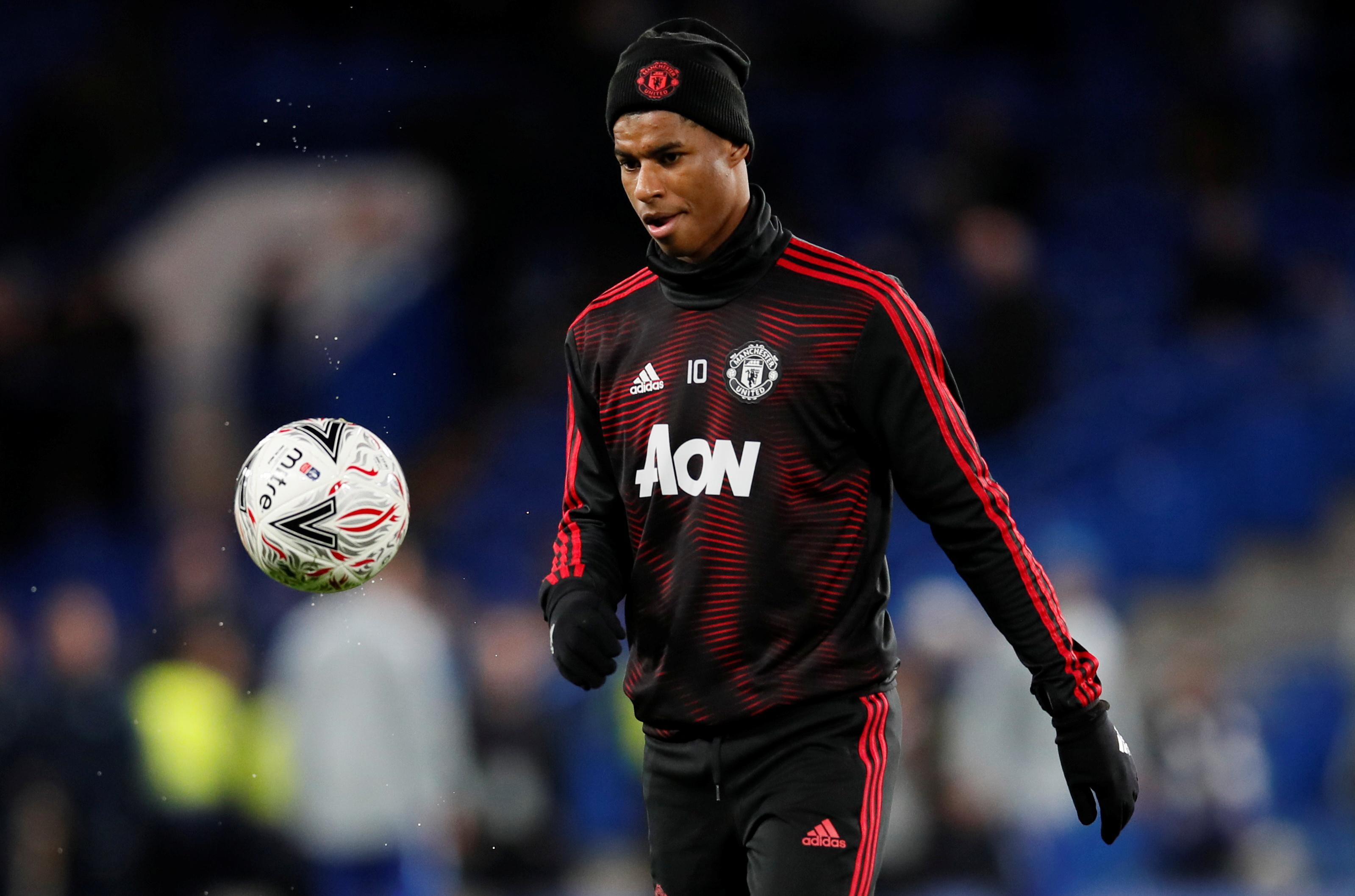Manchester United Rashford Hd Football