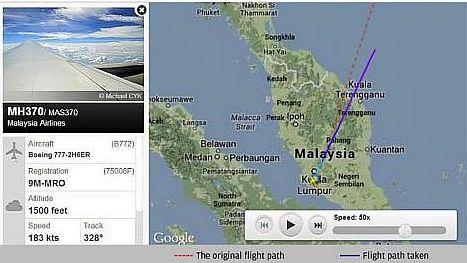 Missing MAS flight: Timeline of events | The Star Online
