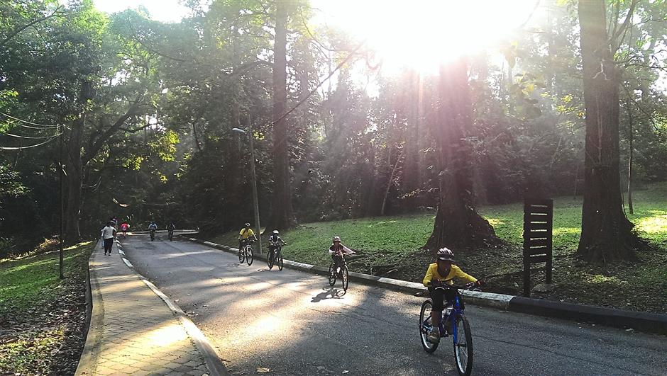 5. Forest Research Institute of Malaysia (FRIM). 10 leisure cycling hotspots.