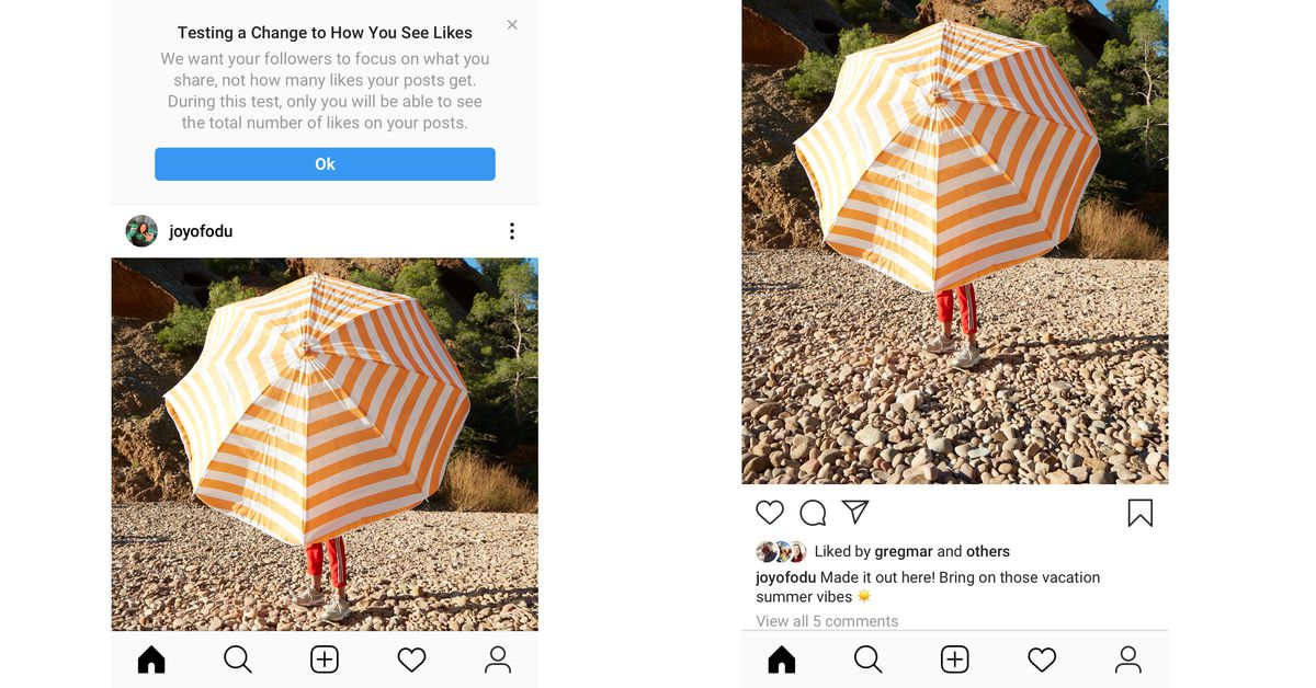 Instagram's test to hide 'Likes' expands to more countries | The