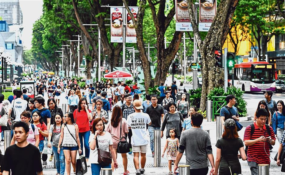 Regional base: The Asean regions population of over 600 million people presents local SMEs with a wider market if only theyd tap into it. – ST Photo