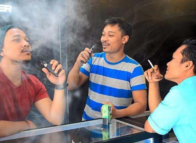 Hazy future: Smokers and vapers face uncertainty now that the Health Ministry plans to ban nicotine in vape liquids.