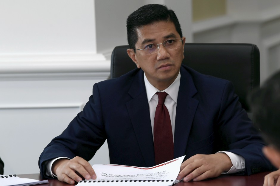 Economic Affairs Minister Datuk Seri Azmin Ali. u2013 Bernama