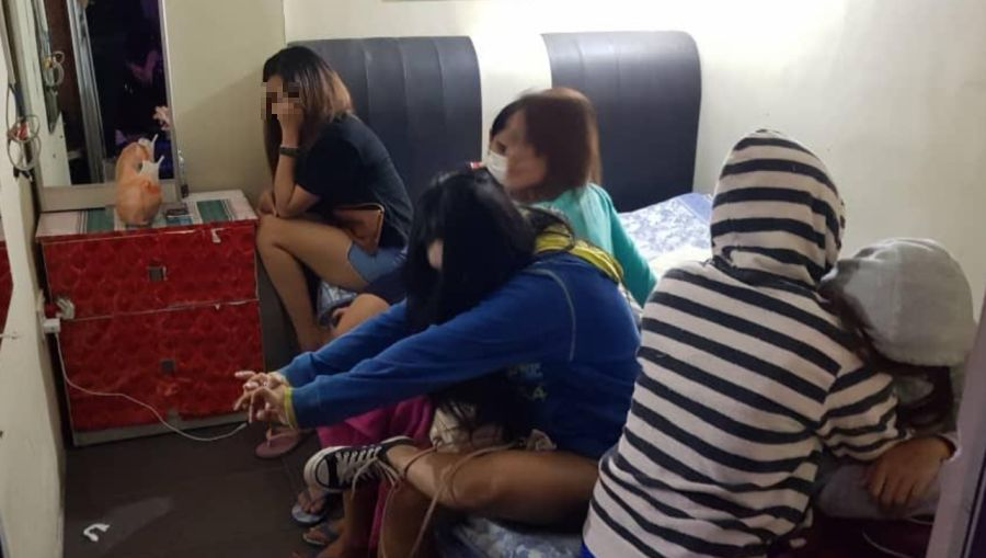 41 foreign women held for prostitution after four massage