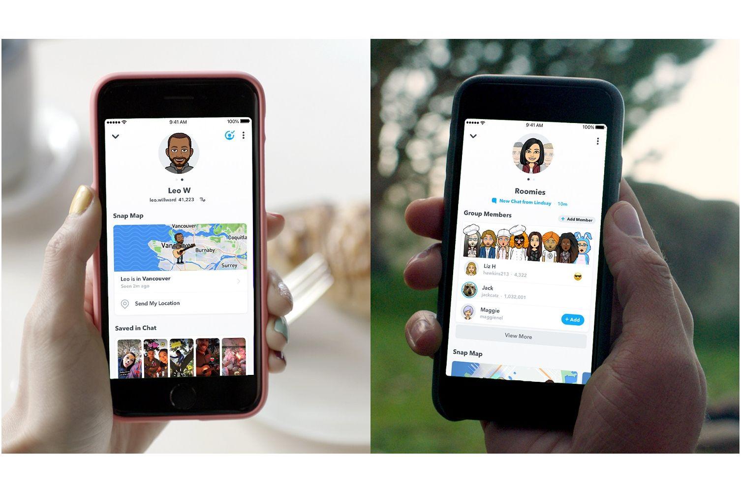 Snapchat introduces Friendship Profiles and Bitmoji merch