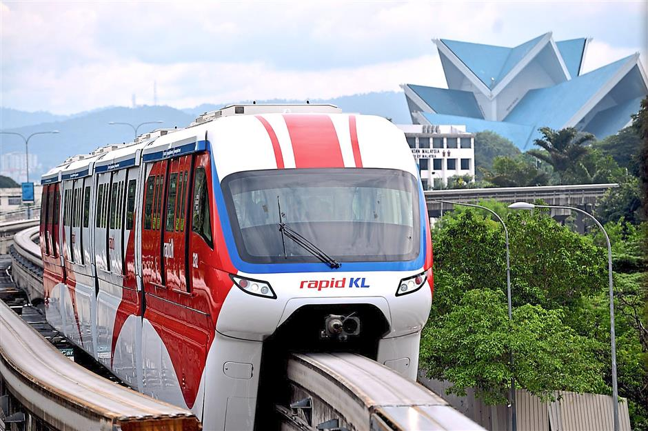 The first two of new four-car Malaysian-made monorail trains has started operation on Dec 20