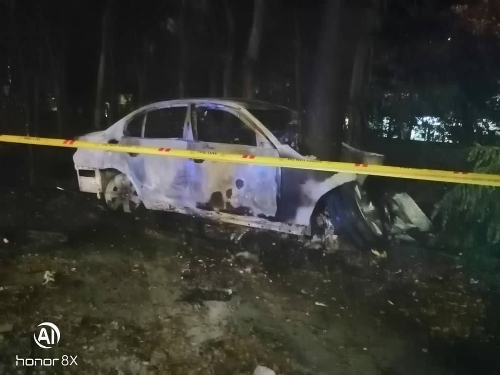 Driver burns to death when vehicle goes up in flames after accident