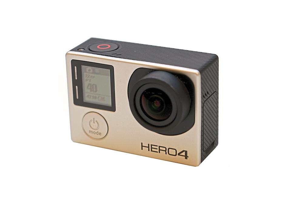 By itself the Hero4 Silver is a very small camera that delivers big results.