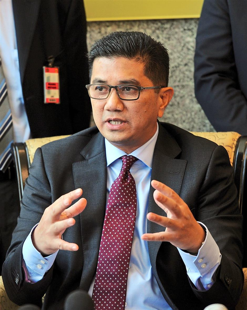 Open to feedback: Azmin says he has received many objections as well as support for the project and assures that precautions will be taken during the construction of EKVE.