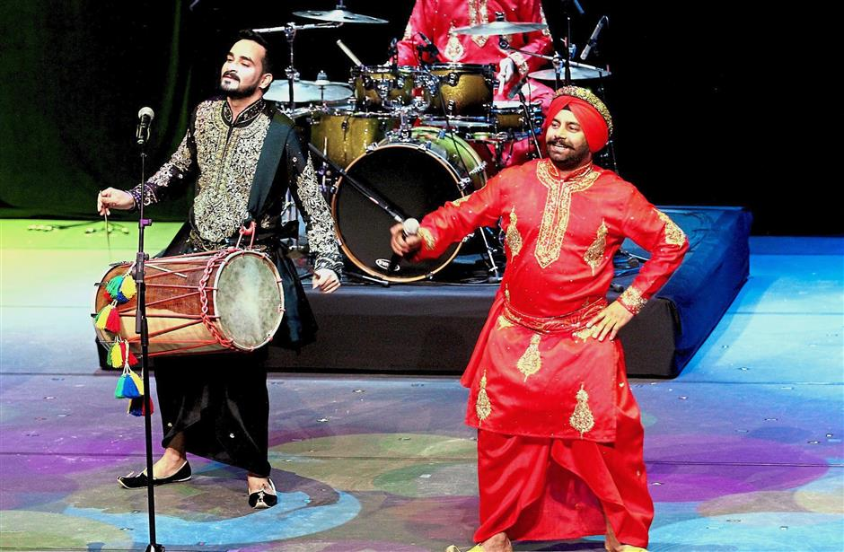 A show by Dhol Alliance at the concert had visitors dancing in their seats.
