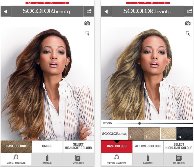 Matrix And Modiface Create Next Gen Hair Colour Simulator