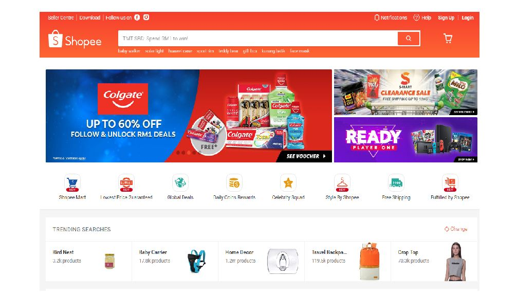 52e53a182 Shopee: More men are getting their products online   The Star Online