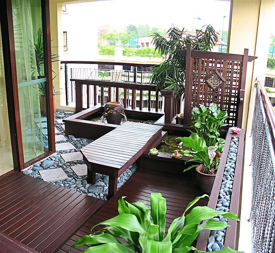 Serenity on the balcony  The Star