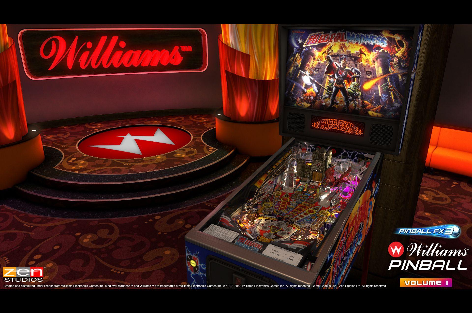 Pinball FX3 game readies iconic Williams and Bally machines