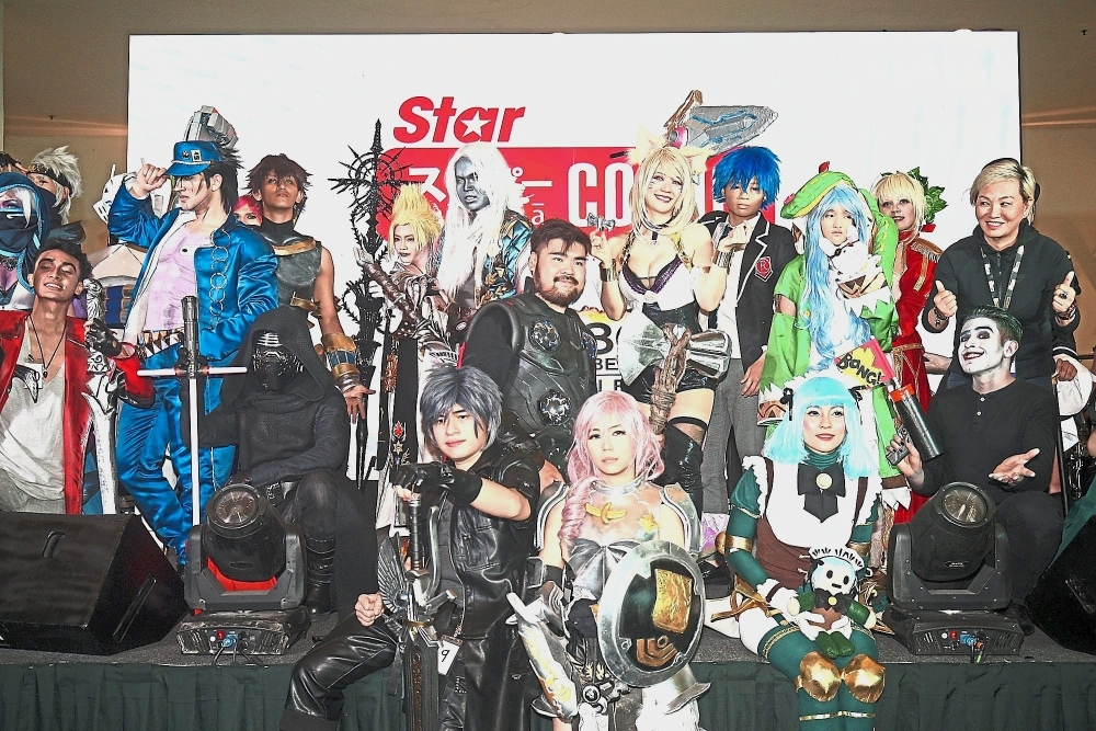 Yuan Cross enthrals fans at cosplay show | The Star Online
