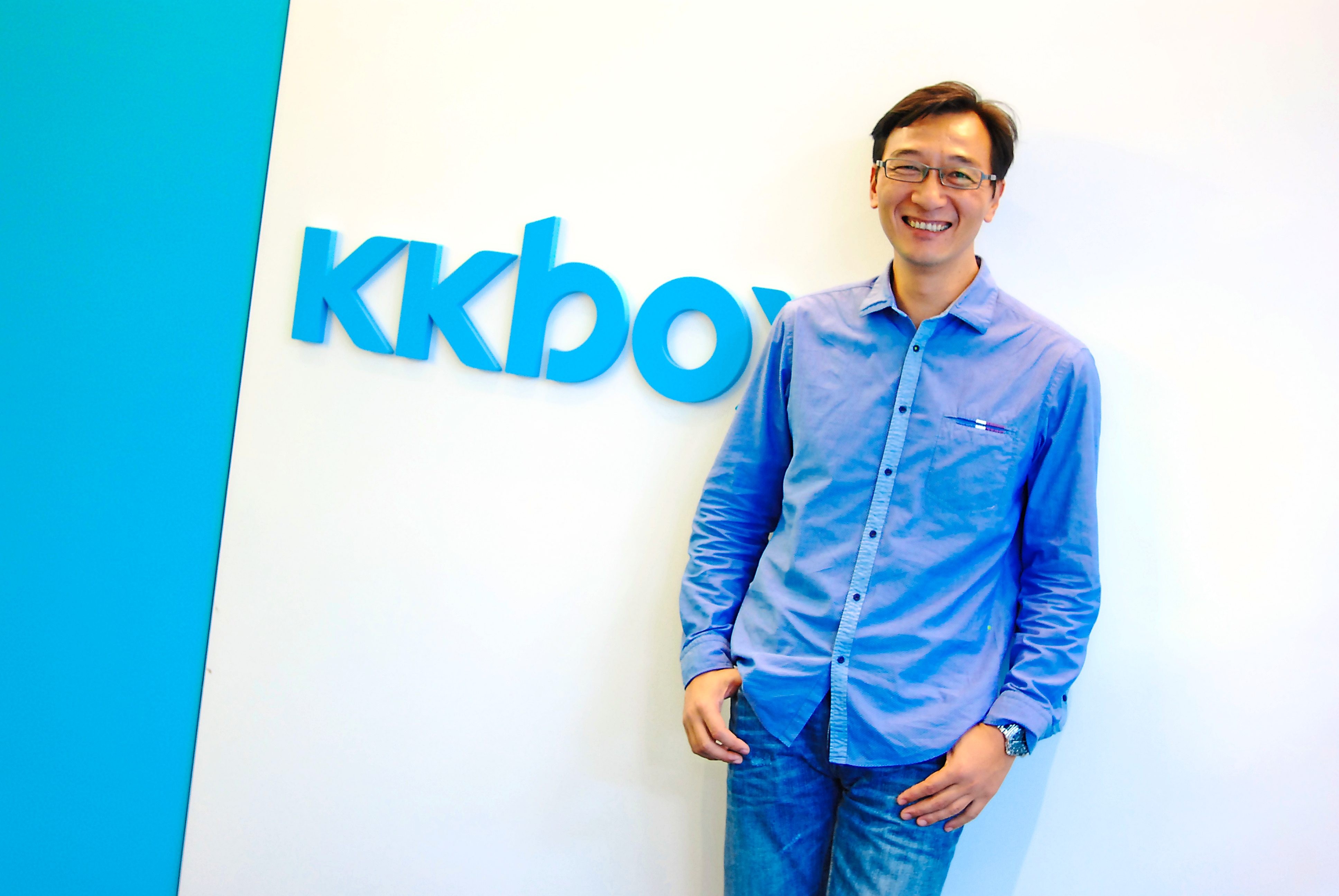 Ho says KKBOX is one of the few music streaming service providers that's profitable. The company has been making money for the last five years. Photo: KKBOX