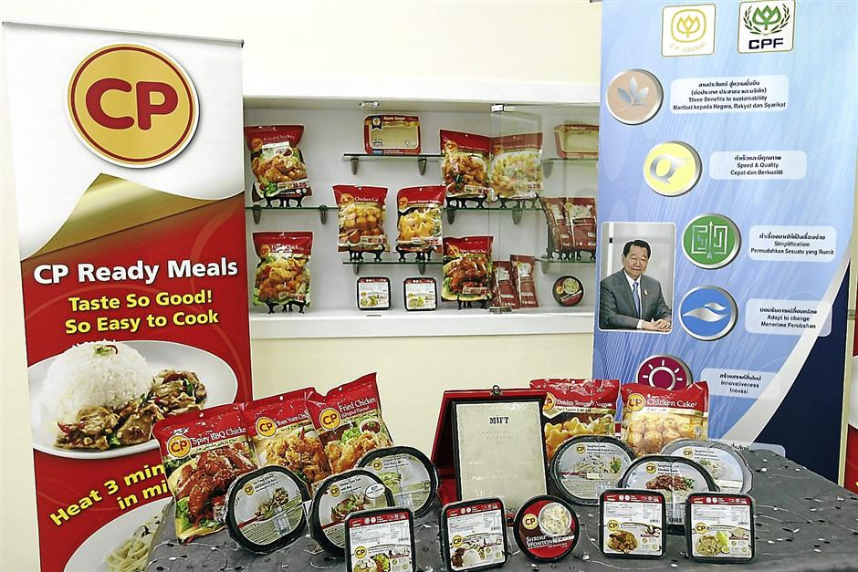 CP Food recently launched three different ranges of products, which includes the Spaghetti range (chicken sauce, mushroom and carbonara), Thai cuisine (the MIFT Award winning product, the chicken tom yum with rice) and Malaysian delights (Nasi Lemak with chicken rending, kampung fried rice, American fried rice and sausage fried rice)