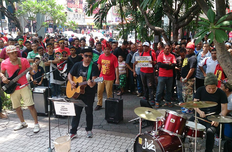 One Nation Buskers